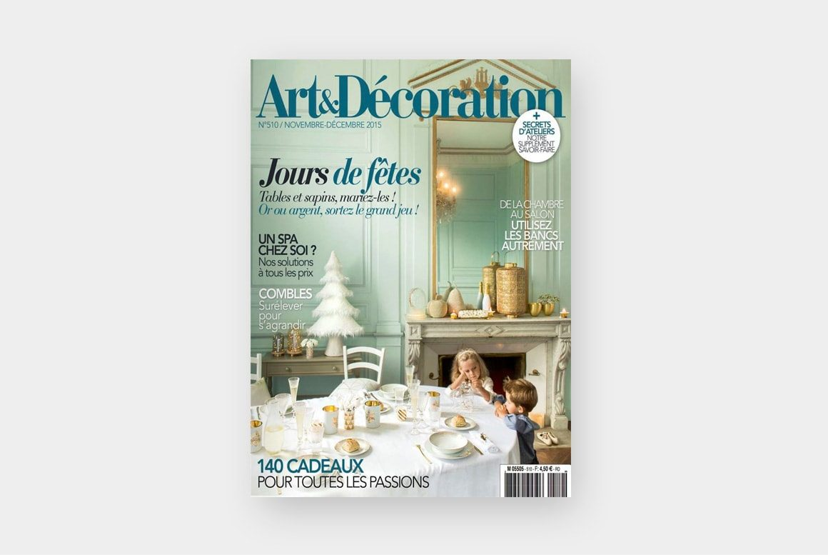 Art Decoration Novembre 2015 couv